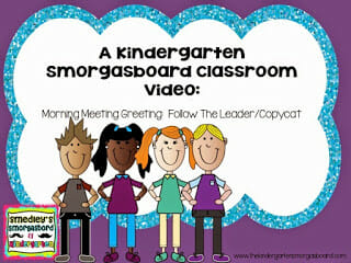 13 morning meeting greetings the kindergarten smorgasboard click here to read a detailed blog post about this greeting1 m4hsunfo