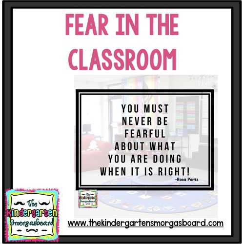 fear in the classroom