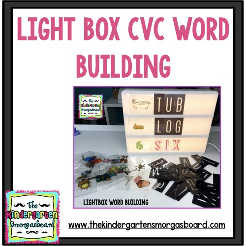 lightbox cvc word building