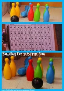 kindergarten subtraction