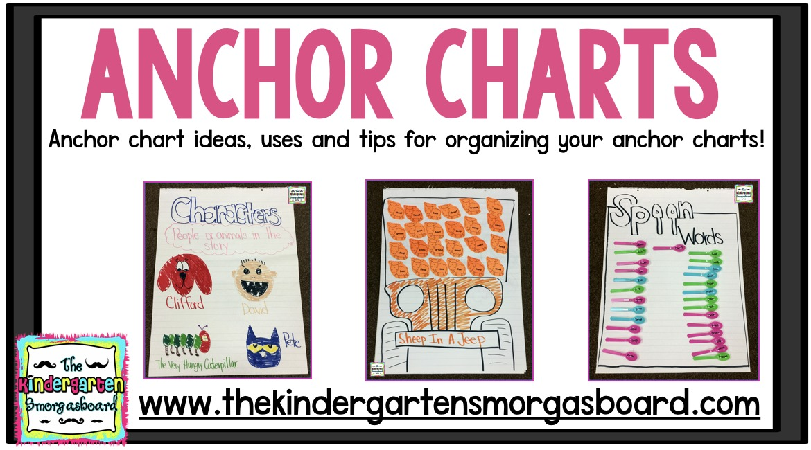 Anchor Charts | Anchor Charts Ideas Tips And Tricks The Kindergarten Smorgasboard