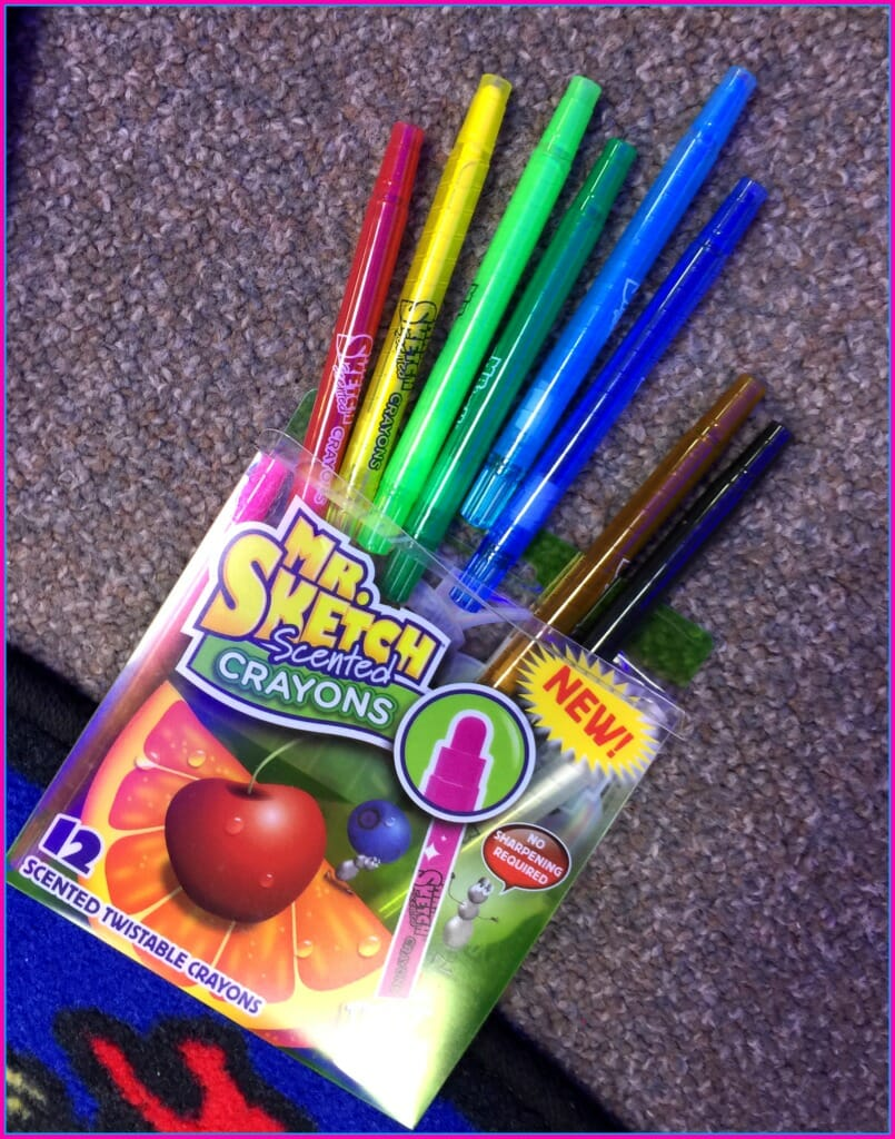 mr sketch scented crayons