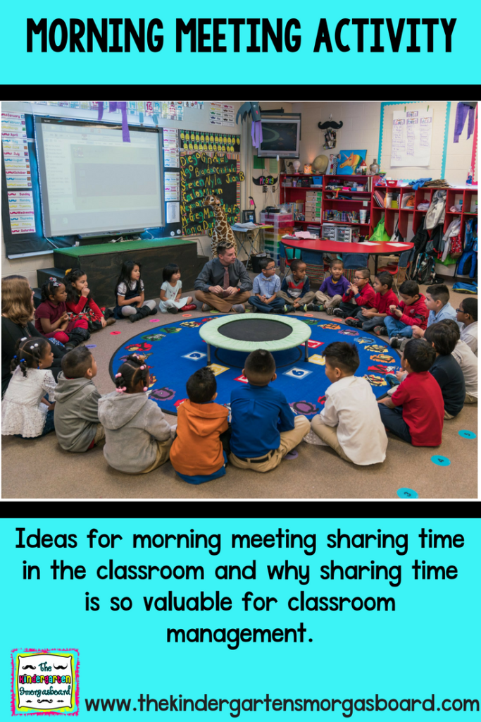 Morning Meeting Activity The Kindergarten Smorgasboard