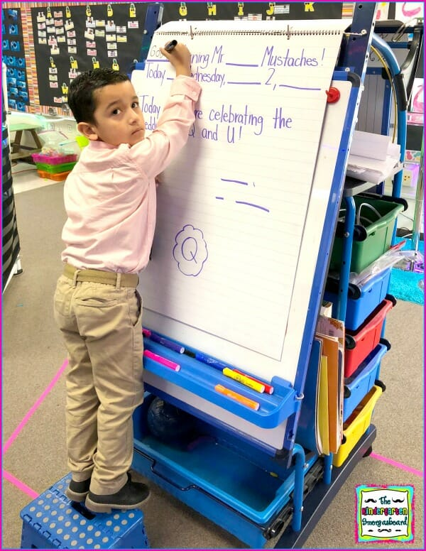 kindergarten interactive writing
