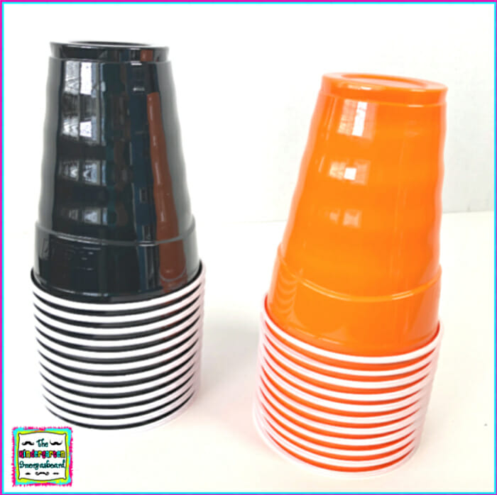 ten frames stacking cups