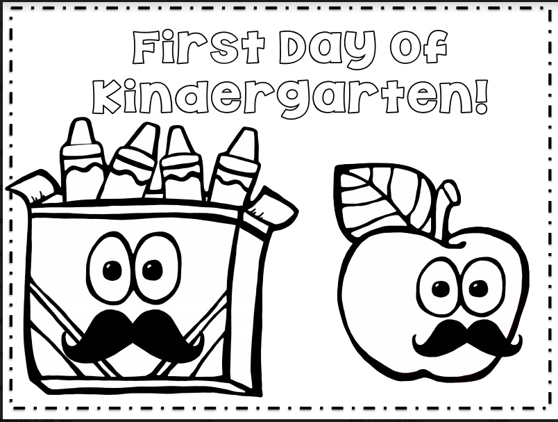 - The First Day Of School – The Kindergarten Smorgasboard