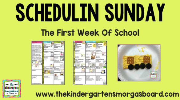 The Kindergarten Smorgasboard |
